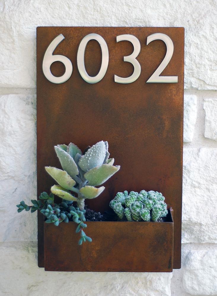Cartelera decorativa Los Jardines