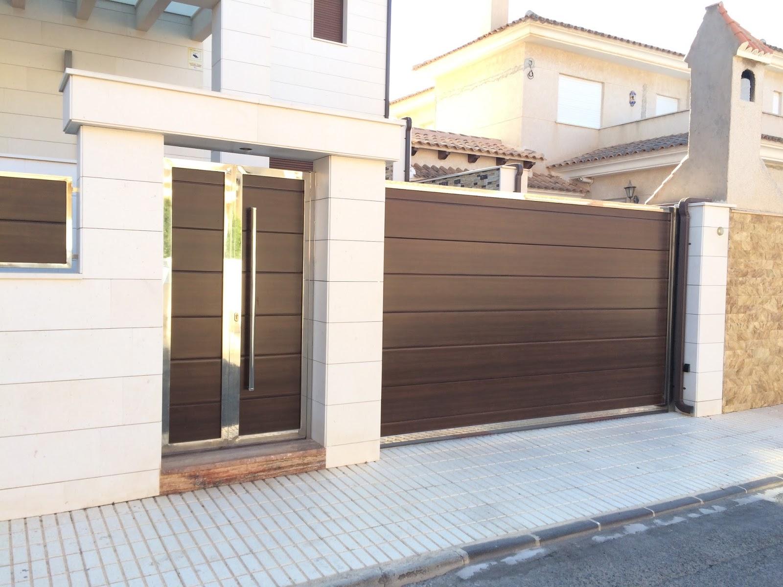 Puertas residenciales Tendencias Las Rozas