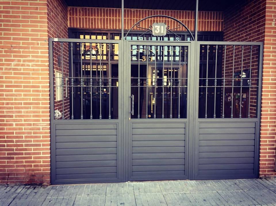 Puertas Residenciales Francisco Javier Sauquillo