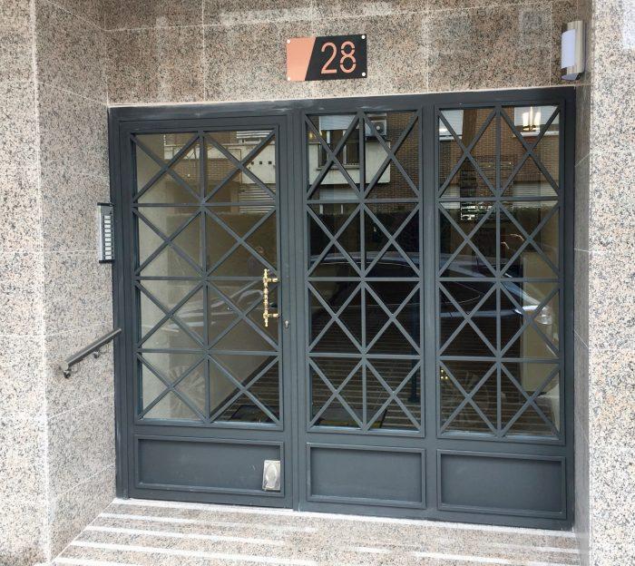 Puertas Comunidades Vintage Ainsa
